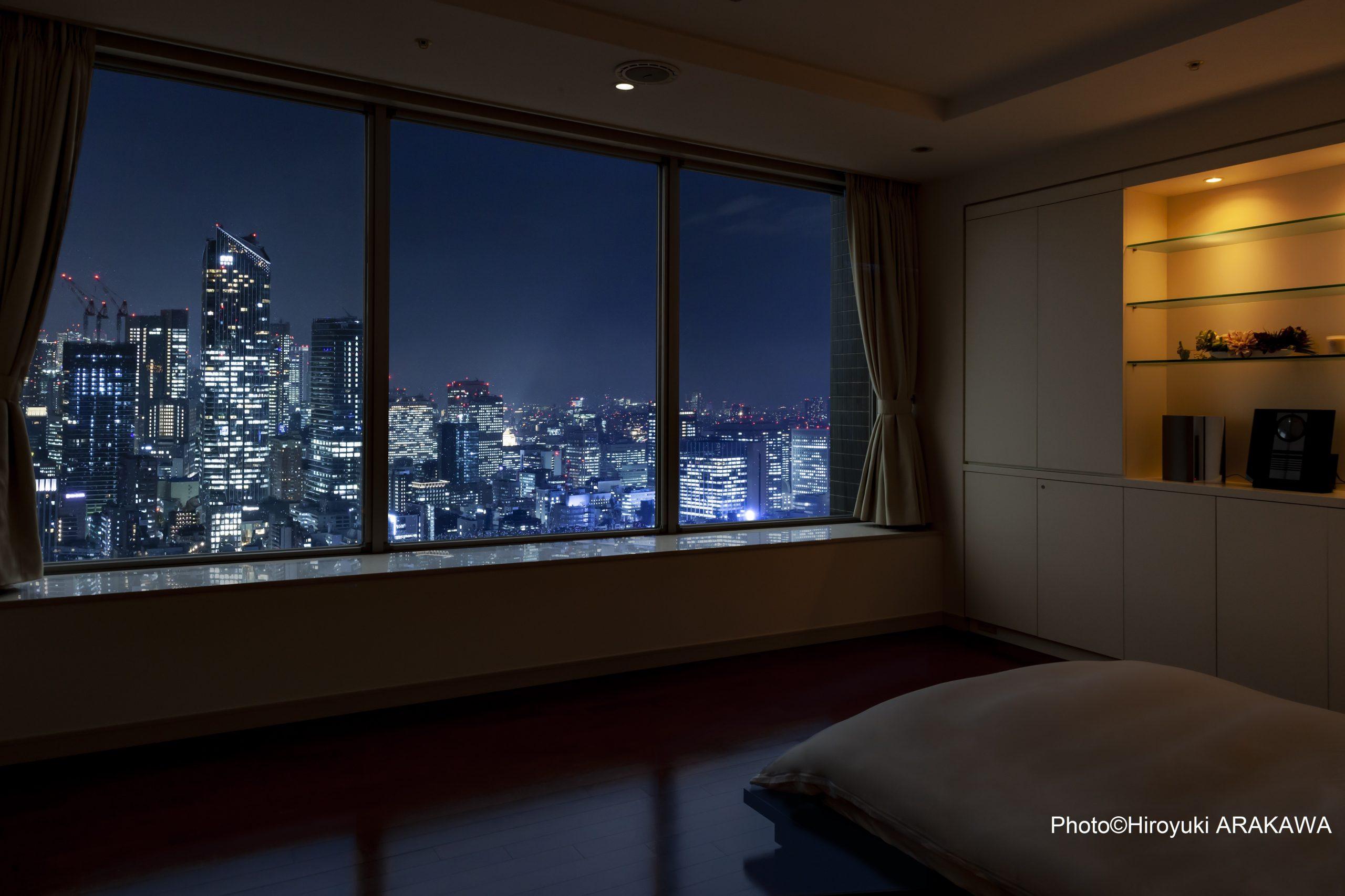 Tokyo Twin Parks Penthouse Photo©Hiroyuki ARAKAWA
